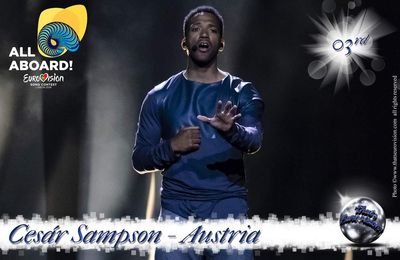 Austria - Cesár Sampson - 3rd All Aboard!