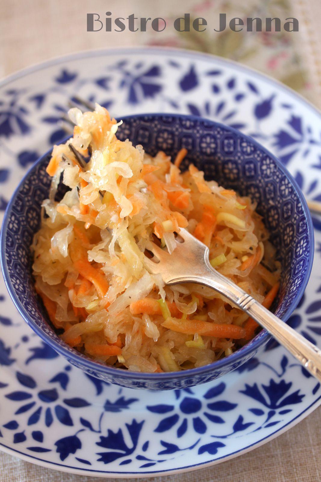 Salade de choucroute cru