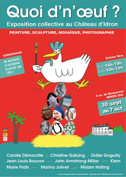ENCORE DU NEUF POUR LES ARTISTES CHEMINS DES ARTS !