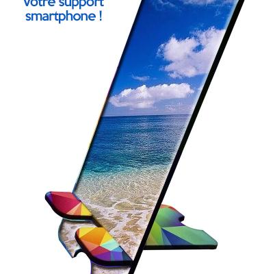 Supports personnalisables pour smartphones et nouveaux accessoires personnalisés