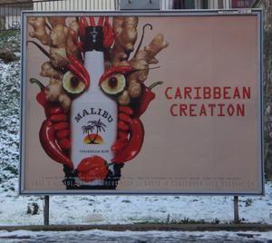 Affiches publicitaires, campagne de communication