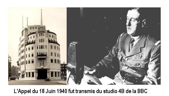 Comment fut diffusé par la B.B.C. le message du 18 juin 1940