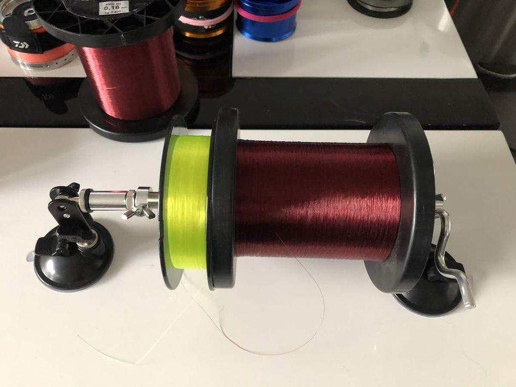 Les supports à bobines de fil pour remplir son moulinet