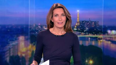 ANNE-CLAIRE COUDRAY @ACCoudray @TF1 @TF1LeJT ce soir pour LE 20H WEEK-END #vuesalatele