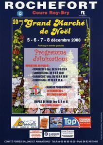 10éme Marché de Noël de Rochefort(17)