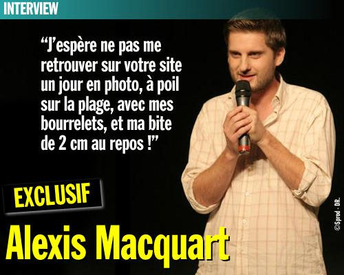 EXCLU / Interview : Alexis Macquart