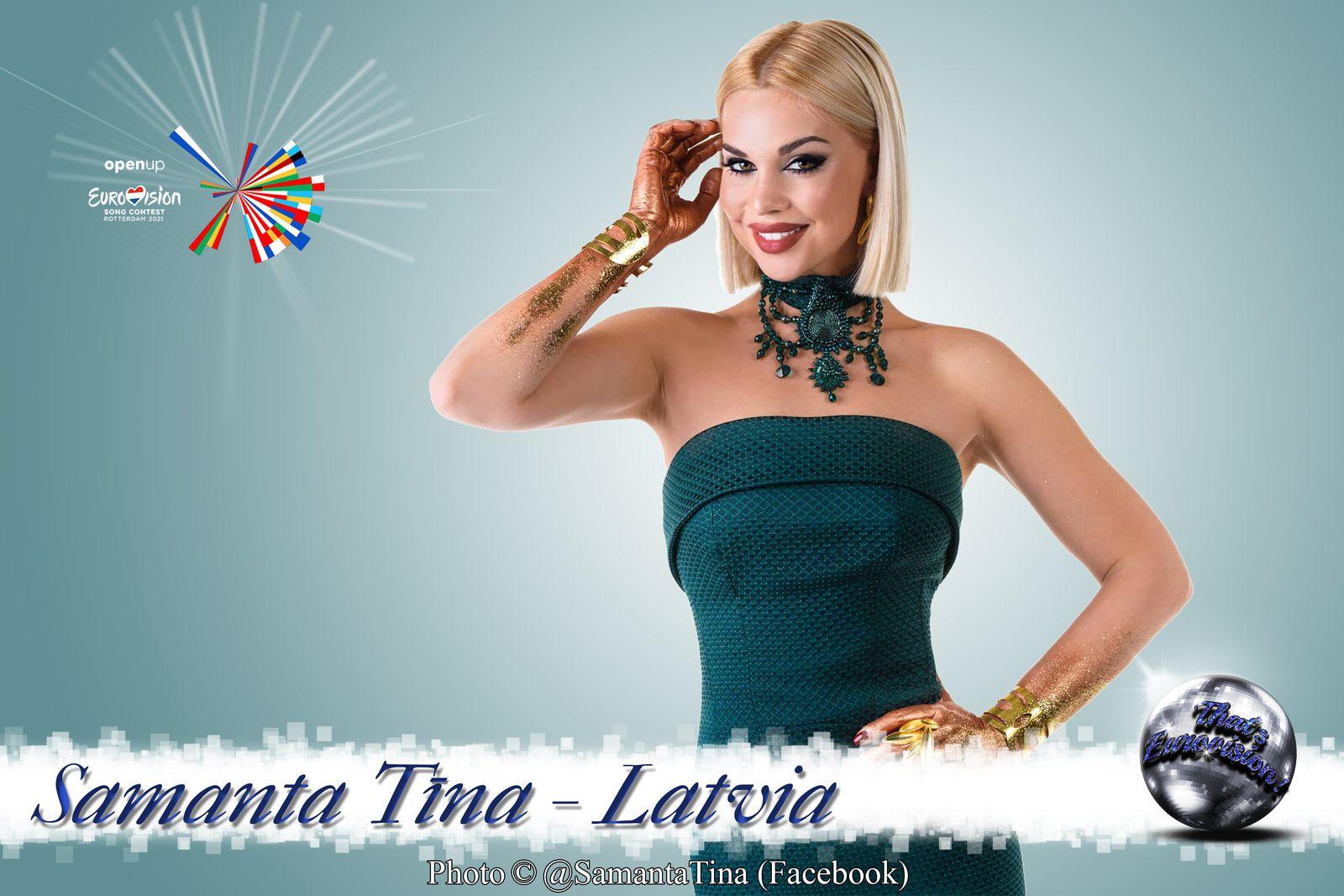 Latvia 2021 - Samanta Tīna (The Moon is Rising)