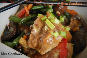 Poulet Sauce d'Huître (Chine-Réunion)