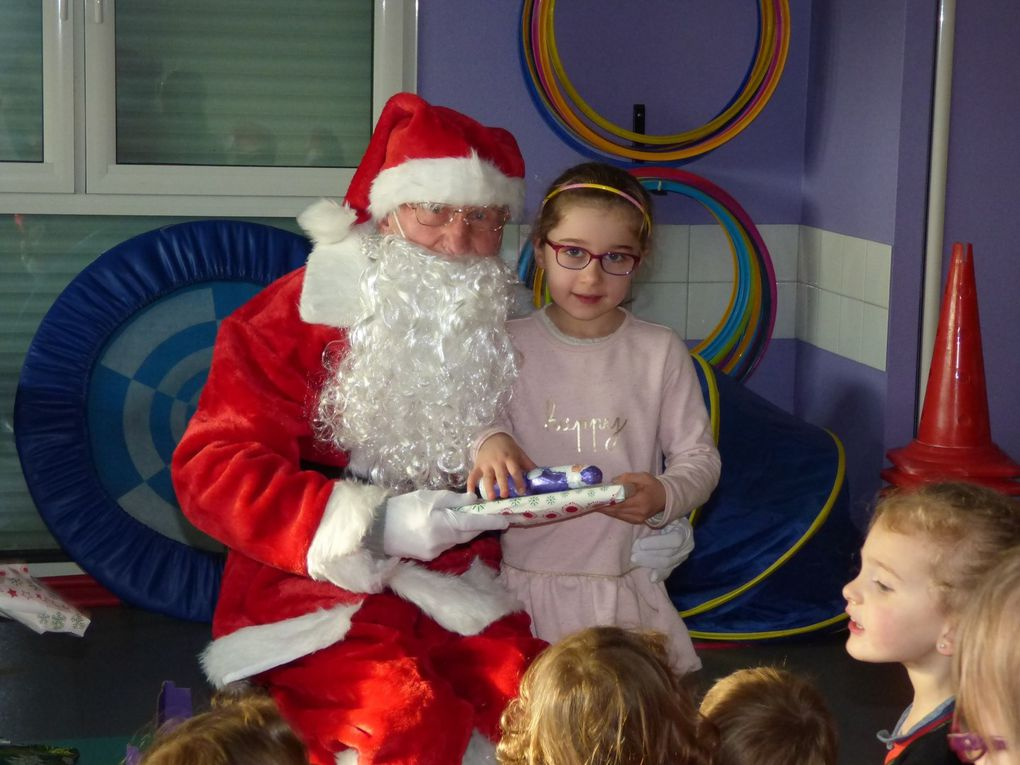 Visite du Père Noël