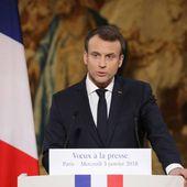 Macron annonce une loi contre les fake news