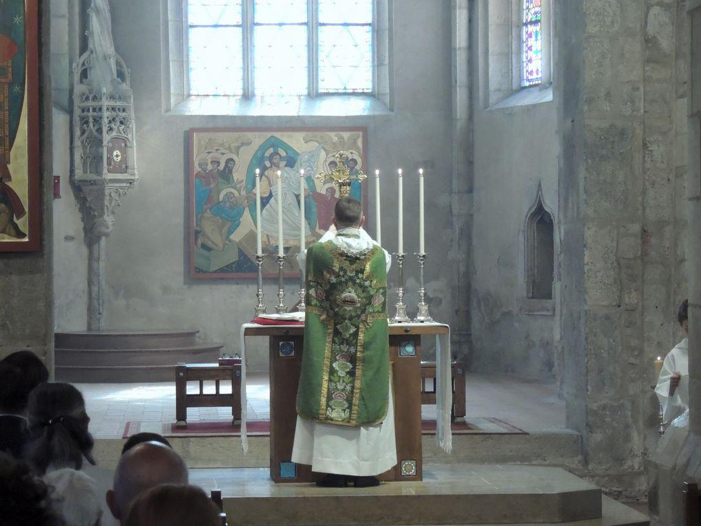 Messe du Dimanche 20/06/2021 et 1ère Communion de Ithier ALBAFOUILLE.