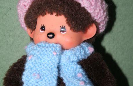 """L'écharpe de """"Mademoiselle Kiki"""""""