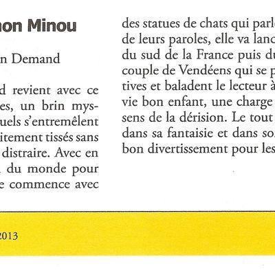 """Evaluation """"Tu délires mon minou"""""""
