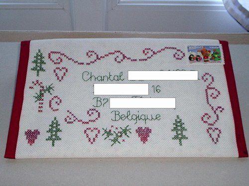 Album - Enveloppes-brodees envoyées