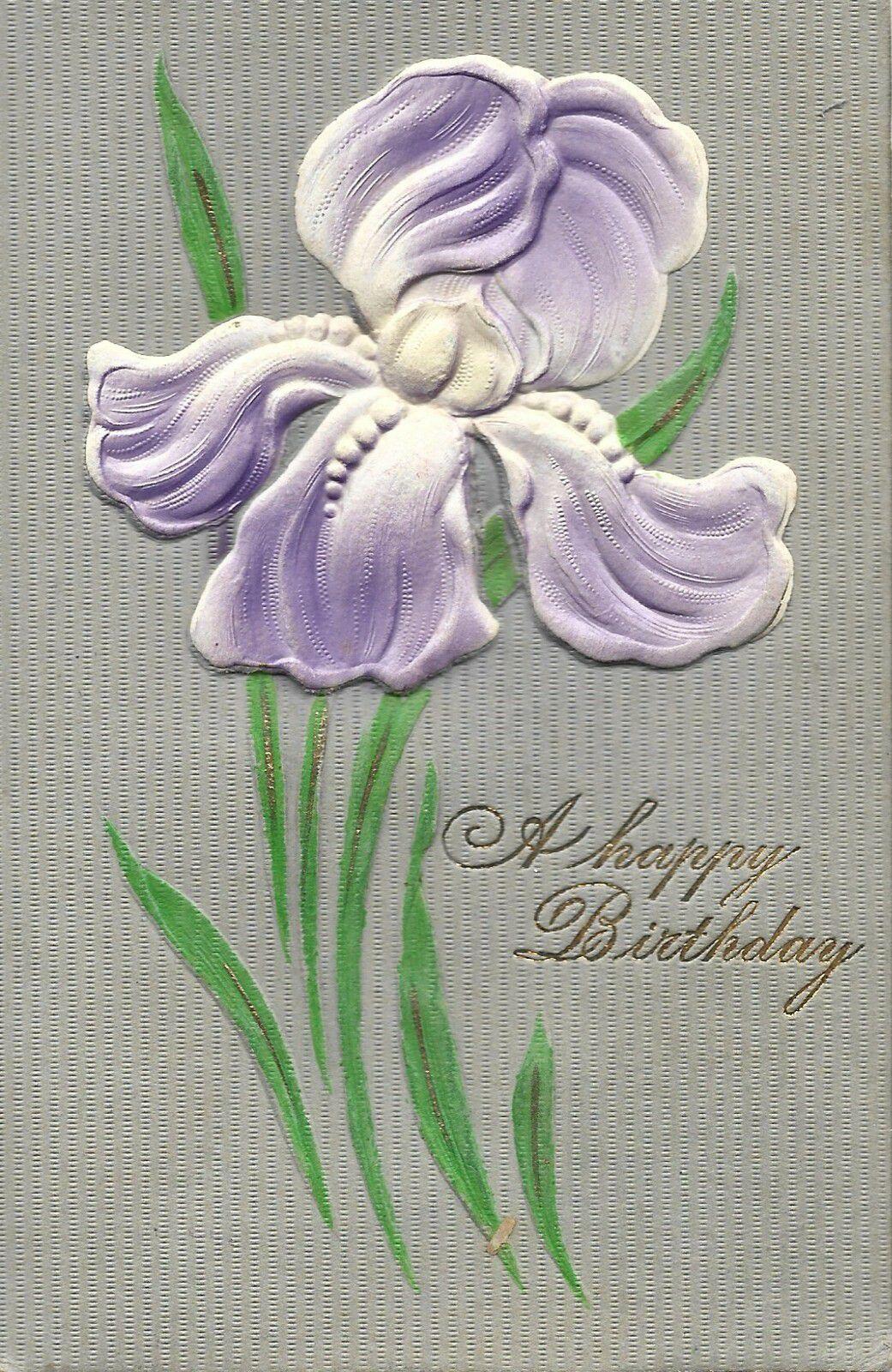 IRIS 2018 - A HAPPY BIRTHDAY - 16.04.1908