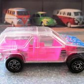 NISSAN TERRANO MAJORETTE 1/60 SUPER CRYSTAL VOITURE TRANSPARENTE - car-collector.net