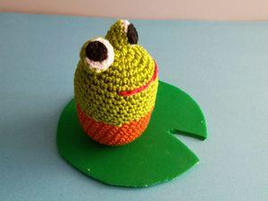 cupcake grenouille