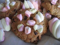 Cookies aux marshmallows