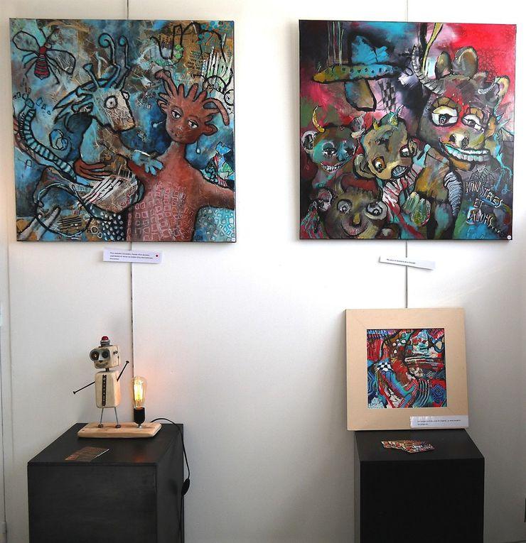 Jean-Jacques et Leon exposent à la galerie en septembre 2018