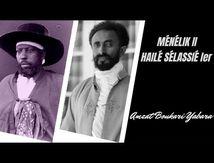 Ménélik II et Haïlé Sélassié Ier