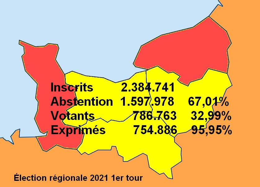 Val de Saire Elections régionales, les résultats