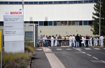 Refus de la réouverture de l'usine Bosch en Aveyron