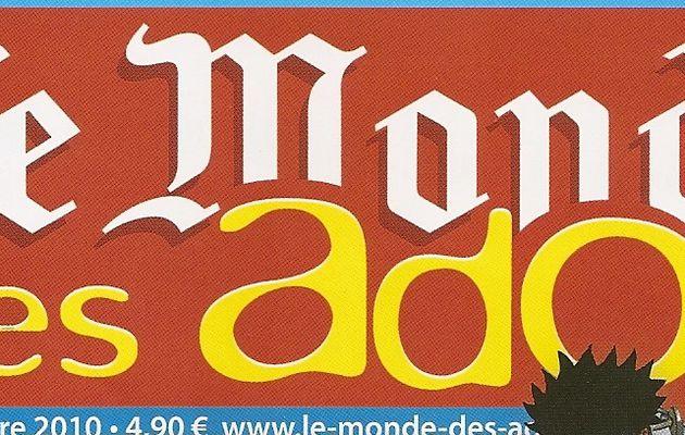 Les premières pages d'Amour Mortel dans le Monde des Ados cet été [MAJ]