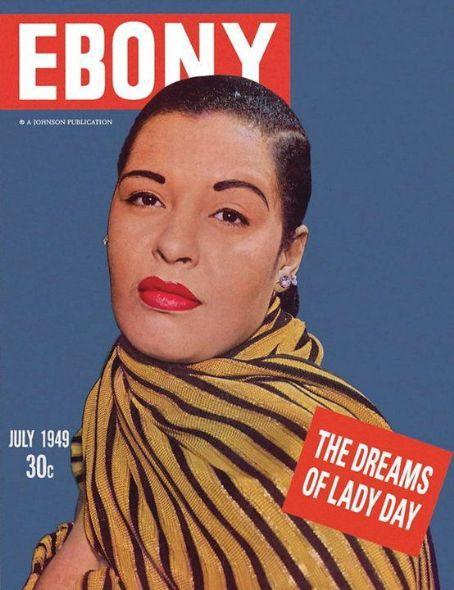 Billie Holiday, Ebony's cover, July 1949