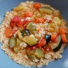 Couscous de légumes Cyril Lignac version cookeo