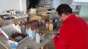 Vidéo de la construction, semaine du 24 au 28 mars 2014 - Mini World Lyon - Partie 3