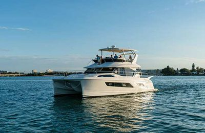 Aquila Power Catamaran to make appearance at the Cannes Yachting Festival