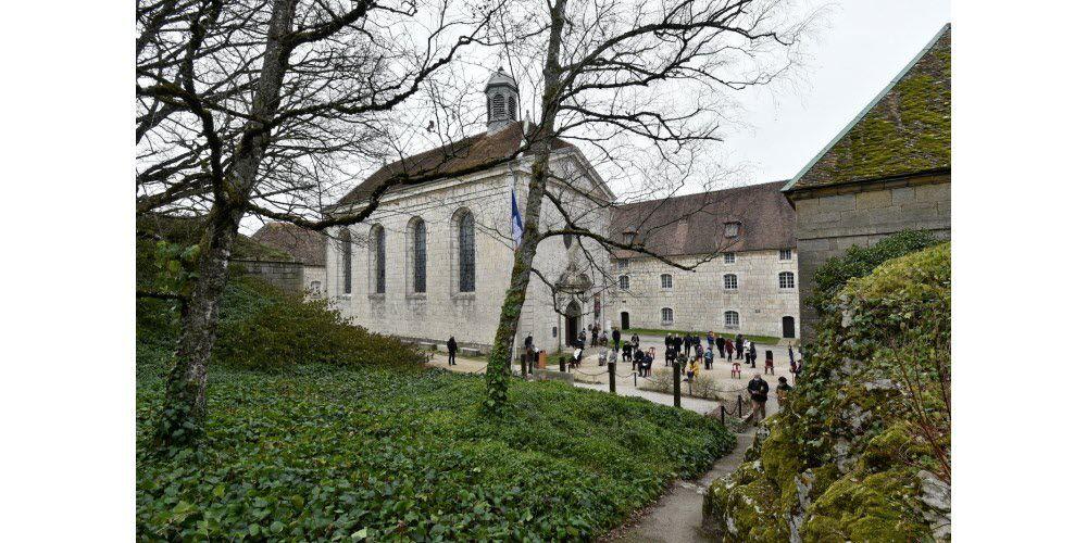 Cérémonie ce mercredi 27 janvier à Besançon à l'occasion de la Journée de la mémoire de l'Holocauste et de la prévention des crimes contre l'humanité. Photo ER/Franck Lallemand 1 /8