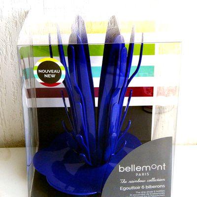 L'Egouttoir 6 biberons de la Collection The Rainbow de Bellemont Paris