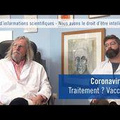 Coronavirus, 2 médecins français remettent l'église au milieu du village.