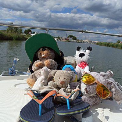 Doudou & Co font du bateau