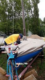 Une bonne journée de nettoyage sur notre parc à bateaux