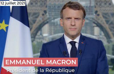 Allocution de Macron : Un président-candidat au service du capital !