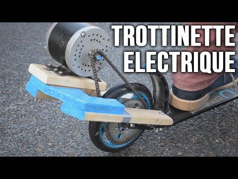 Comment faire une trottinette electrique
