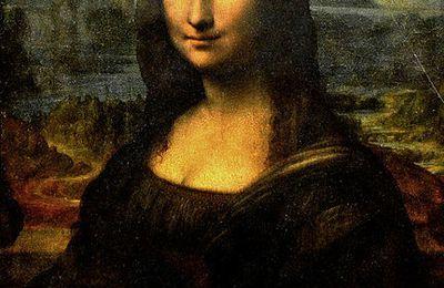 Miroir dans l'Art 2 - La joconde Léonard de Vinci