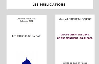 Les publications du 16e concours de poésie