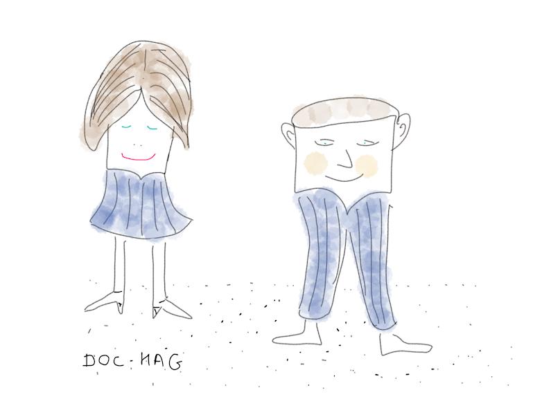 Humour couple: Randonnée