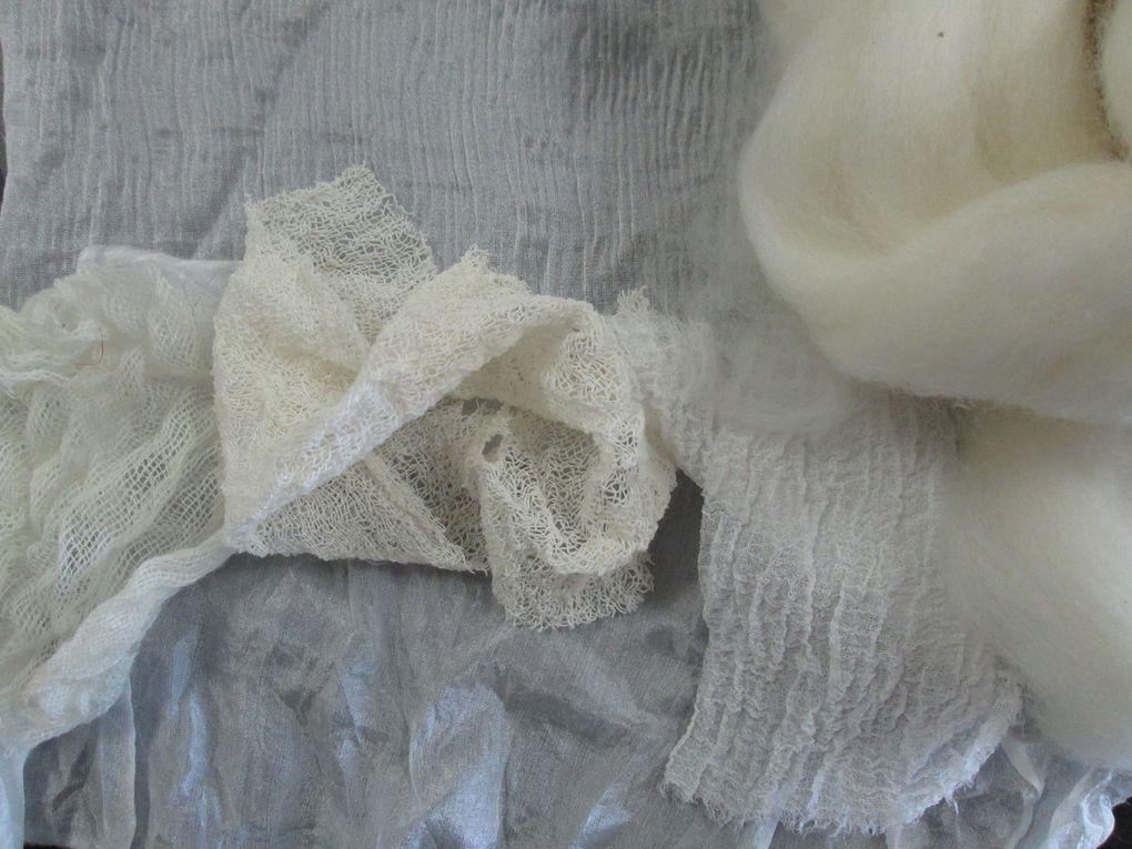 Fabrication d'une veste en feutre Nuno