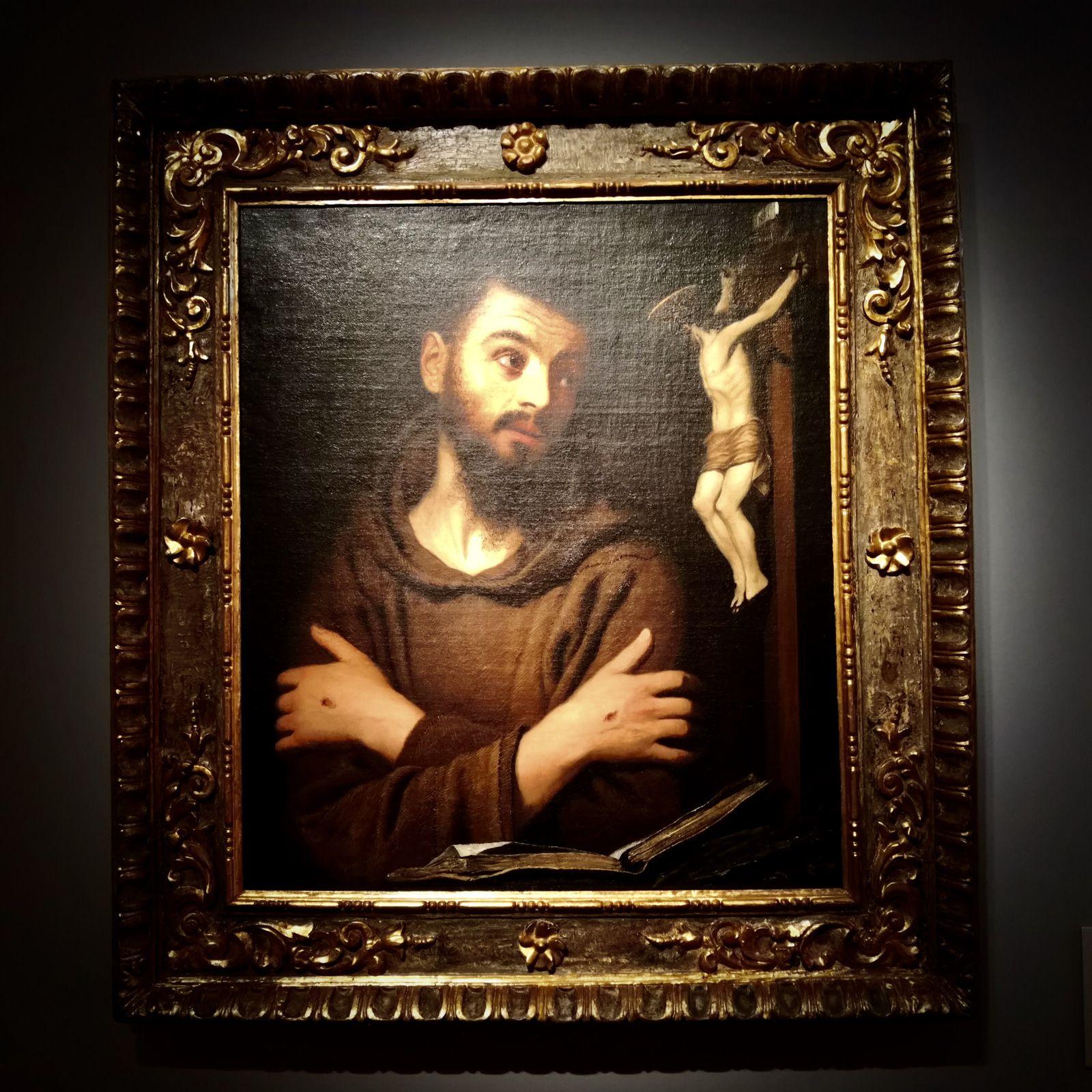 Francesco Lupicini (1591-1656), Saint François d'Assise, Huile sur toile