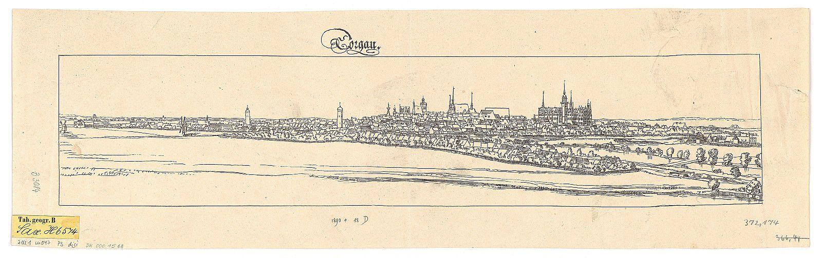 Torgau à la fin du XIXè siècle