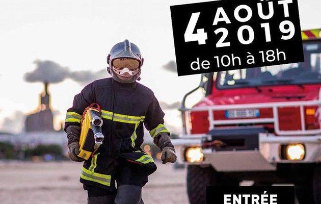 Royan - Portes ouvertes des sapeurs-pompiers le 4 Août 2019