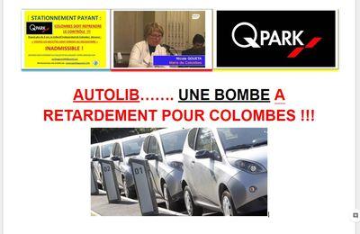 Autolib, une bombe à retardement pour Colombes !.