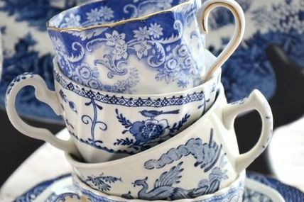 Blue china for my gr