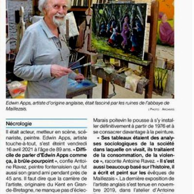 OUEST-FRANCE 20 04 2021