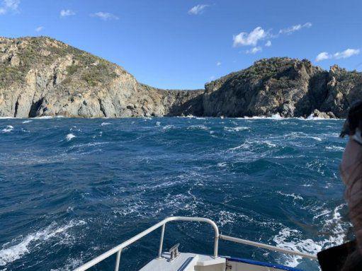 Var – Deux personnes secourues par la SNSM à la pointe du Cap Lardier