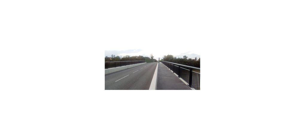 Piste cyclable Toulouse - Muret à hauteur de Portet sur Garonne